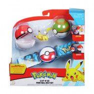 OVG - PROXY APS Pokémon, Clip ´N Go Belt Set - Poke Nest Ball&Pikachu