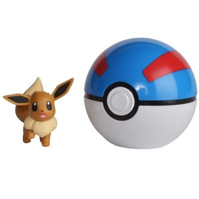 OVG - PROXY APS Pokémon, Clip ´N Go - Eevee&Great Ball