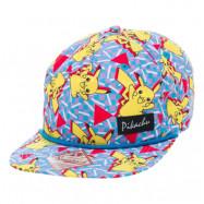 Pokemon Pikachu Snapback Keps Flerfärgad - One size