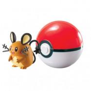 Pokémon - Clip ´n´ Carry Ball (Dedenne&Poke Ball)