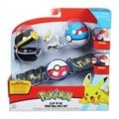 Pokémon, Clip ´N Go Belt Set - Great Luxury Ball Jangmo-O