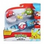 Pokémon, Clip ´N Go Belt Set - Poke Nest Ball&Pikachu