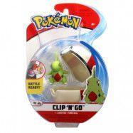 Pokémon Clip ´N Go Larvitar&Timer Ball