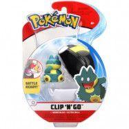 Pokémon Clip ´N Go Munchlax&Ultra Ball