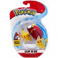 Pokémon Clip ´N Go Pikachu #1&Repeat Ball