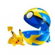 Pokémon - Clip ´N Go Wave 2 - Pikachu&Quick Ball
