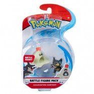 Pokémon, Figure Battle - Alolan Rattata&Sandygast
