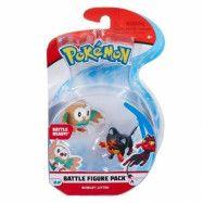 Pokémon, Figure Battle - Rowlet&Litten