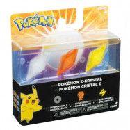 Pokémon - Nintendo 3DS - Z-Crystal (Normalium Z, Fightinum Z&Electrium Z)