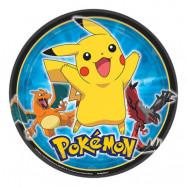 Pokémon Tallrikar - 8-pack