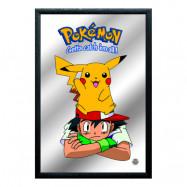Spegeltavla Pokémon Ash & Pikachu