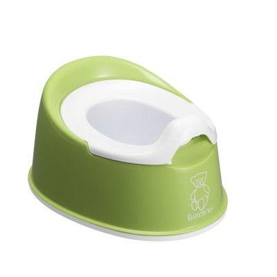 BabyBjörn Potta Smart (Grön/Vit)
