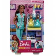 Barbie Doktor med Bebisar och Skötbord
