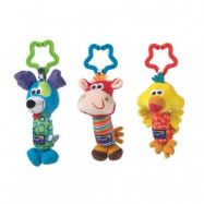 Playgro Vagnsleksak 3-pack