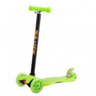 Trehjulig sparkcykel (Grön)