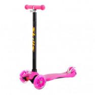 Trehjulig sparkcykel - rosa