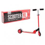 Sparkcykel XL röd med blixt motiv