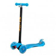 Trehjulig sparkcykel (Blå)