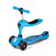 Twix scooter med sits (Blå)