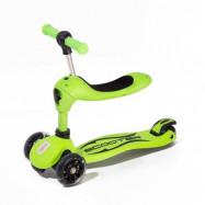 Twix scooter med sits - Grön