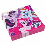 Amscan My Little Pony, Servetter 20-pack 33 cm