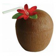 Bägare Kokosnöt