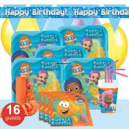 Bubble Guppies, Kalaspaket Deluxe 16 pers