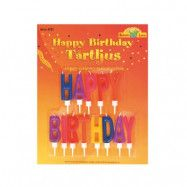 Buttericks - Tårtljus Happy Birthday