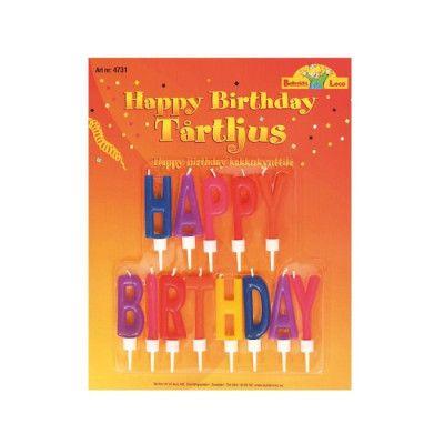 Buttericks - Tårtljus Happy Birthday