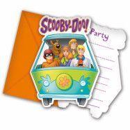 Colorful Scooby Doo, Inbjudningskort 6 st