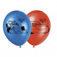 Decorata Disney Cars Ice Racers, Ballonger, 8 st