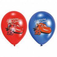 Disney Cars - Ballonger 6-pack 27 cm