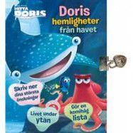 Tukan Förlag Disney Hitta Doris, Dagbok med lås