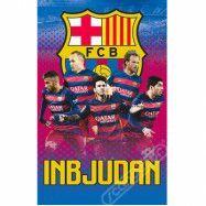 Fotboll Barcelona, Inbjudningskort Svenska 8 st