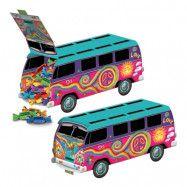 Hippiebuss Bordsdekoration