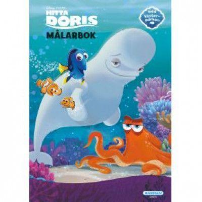 Hitta Doris - Målarbok