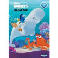 Egmont Kärnan Disney Hitta Doris, Målarbok 24 sid + klistermärken