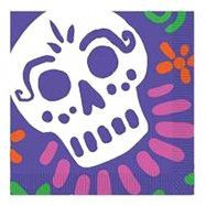 Kaffeservetter Day of The Dead - 16-pack