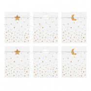 Kalaspåsar Little Star - 6-pack