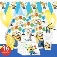 Minions Balloons, Kalaspaket Deluxe 16 pers
