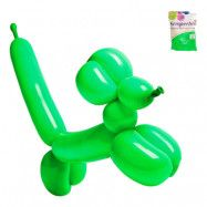 Modellballonger Grön - 100-pack