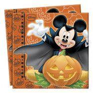 Musse Pigg Halloween Servetter - 20-pack
