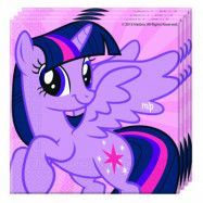 Decorata My Little Pony, Twilight Sparkle Servetter 20 st