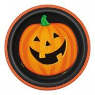 Pappersassietter Glad Halloween - 8-pack