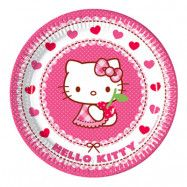 Pappersassietter Hello Kitty - 8-pack