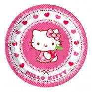 Papperstallrikar Hello Kitty - 8-pack
