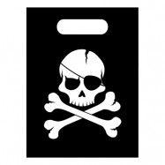 Partypåse Jolly Roger - 6-pack