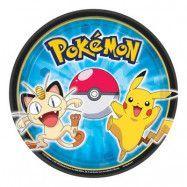 Pokémon Assietter - 8-pack