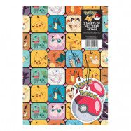 Presentpapper Pokémon
