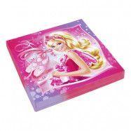 Servetter Barbie Ballerina - 20-pack
